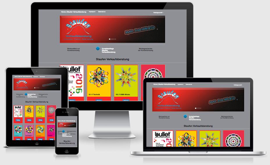 Verkaufsberatung Staufen - Text-Art Göppingen - Webdesign