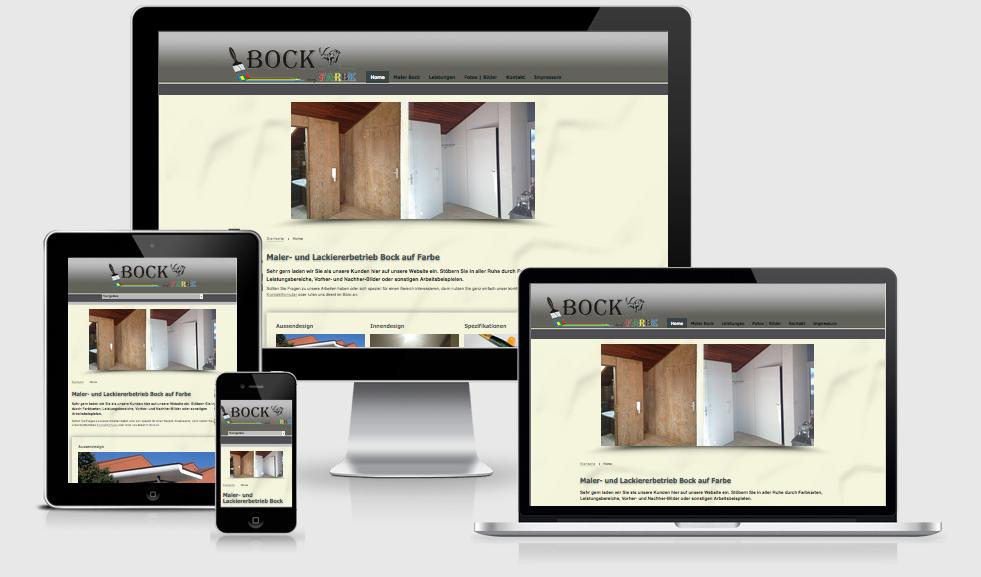 Maler Bock - Webdesign Text-Art Göppingen