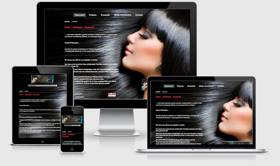Haarscharf Eislingen - Webdesign Text-Art Göppingen