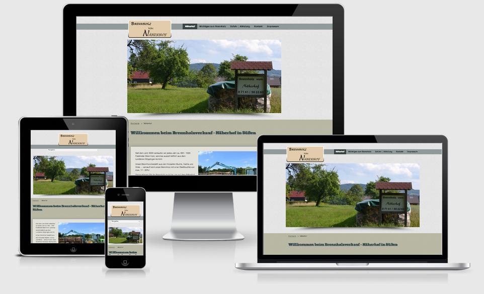 Näherhof Eislingen - Webdesign Text-Art Göppingen
